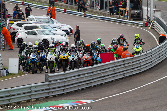 Dickies Supersport warm up, Thruxton July 24th 2016