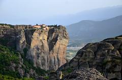 Holy Trinity Monastery (tonyfernandezz) Tags: mountains rockformation monolith cliff greece meteora monastery