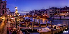 An Evening in Venice, Italy (anoopbrar) Tags: venice venzia italy canals water reflections gandola evening twilight bluehour travel landscape architecture buildings sunset sunrise outdoor longexposure picturesque city explore landscapephotography night dusk travelphotography beautiful europe art artistic caf