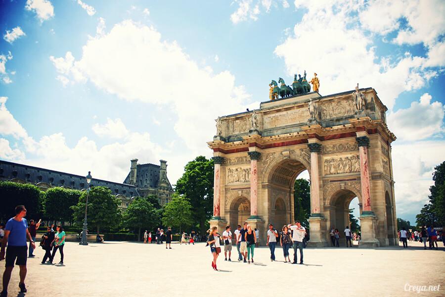 2016.8.28 ▐ 看我的歐行腿▐ 法國巴黎凱旋門、香榭麗舍間的歷史之道 08