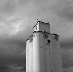 Silo, Joseph, Oregon (austin granger) Tags: silo joseph oregon grain farm crop structure tower austingranger square gf670