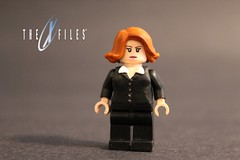 LEGO Custom X Files | Scully (The FUDGY) Tags: dana scully x files lego custom