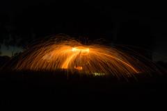 kenneth (2) (Chiefywonder) Tags: steel steelwool long longexposure fire light lightpainting kenneth dejonghe ledegem black background night