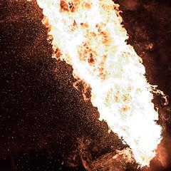 Fire (tik_tok) Tags: fire abstract heat hot singapore singaporezoo nightsafari asia man night
