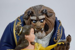 Beauty and the Beast Limited Edition Figurine - Disney Store Purchase - Closeup Left Front View (drj1828) Tags: us disneystore purchase beautyandthebeast limitededition figurine belle beast musical