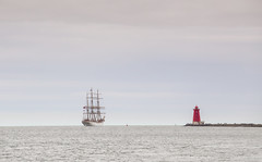 33/52 Statsraad lehmkuhl Dublin Bay (artvaleri) Tags: statsraadlehmkuhl tallship norwegian southwall dublinport