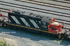CN4119-GMD-GP9RM-cnA1245_TORONTO-090609 (B_Knight) Tags: toronto cnrail distillerydistrict