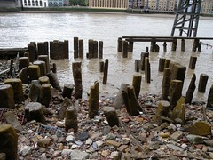 Swan Lane (Thames Discovery Programme) Tags: thamesdiscoveryprogramme riverthames cannonstreet london foreshore community archaeology fcy03