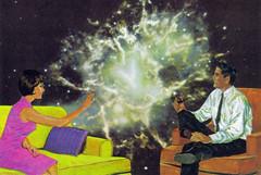 Outer Space Art (dadadreams (Michelle Lanter)) Tags: collage collageart outerspace spaceart spaceage