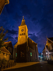 Thunderclouds over the Great Church in Marken, The Netherlands (sandergroffen) Tags: marken noordholland netherlands nl