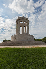The Passetto Monument, Ancona, Italy (andrea_luciani) Tags: europe altar ancona architecture circular city colours column doric fallen green italian italy light marble marche memorial monument nature passetto pedestal sight stone summer symbol tourism travel vacation water white