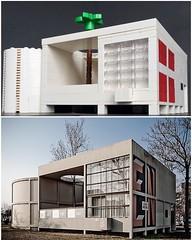 Pavillion de l'Esprit Noveau (askansbricks) Tags: lego lecorbusier corbusier modernism modernarchitecture modernist bauhaus architecture legoarchitecture