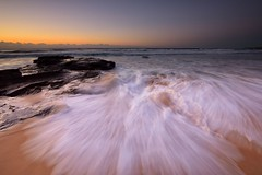 Inrush (Paul Hollins) Tags: aus australia newsouthwales newcastle newcastleeast nikond750 nikon1635mmf4 seascape rocks waves watermovement longexposure