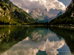 late summer's breeze (but the cat came back) Tags: alpine lake dolomites green explore nature reflections summer ngc