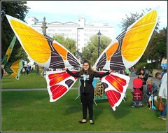 Butterfly Girl .. (** Janets Photos **) Tags: uk hull publicparks events freedomfestival fancydress colours
