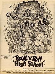 1979 Rock 'n' Roll High School ad (Tom Simpson) Tags: theramones ramones rocknrollhighschool vintage ad ads advertising advertisement vintagead vintageads music movie film