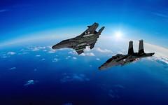 Blender Test (TheRookieBuilder) Tags: f15e strikeeagle aircraft fighter military render blender mecabricks legodigitaldesigner lego ldd