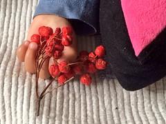 Fragile (cattan2011) Tags: babysportrait babycare baby hand flowers portrait babyshand
