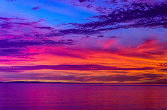 After Golden Hour, After Sundown, This Magic Moment (wayne kimbell) Tags: pacific ocean california coast