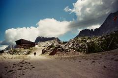 Sella Nevea (Skylark92) Tags: italy friuli sella nevea mountain mountainside landscape bar cafe italie venezia giulia funicular kabelbaan hiking hikers people berglandschap bergen