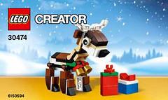 LEGO Creator Reindeer (30474) (hello_bricks) Tags: creator legocreator renne reindeer 30474 lego toy toys bricks