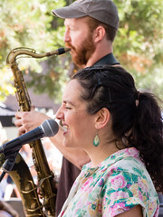 The Tonewood Trio (marketkim) Tags: musicians eugene oregon saturdaymarket festival artfair eugenesaturdaymarket artfestival