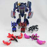 Transformers Soundwave Voyager - Generations Fall of Cybertron - modo robot vs Minions thumbnail