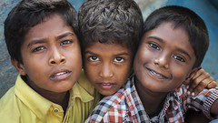 The Trio (bmahesh) Tags: portrait people kids canon eyes faces canon5d trio mahesh thiruvanmiyur canonef24105mmf4isusm tripleportrait canoneos5dmarkii bmahesh