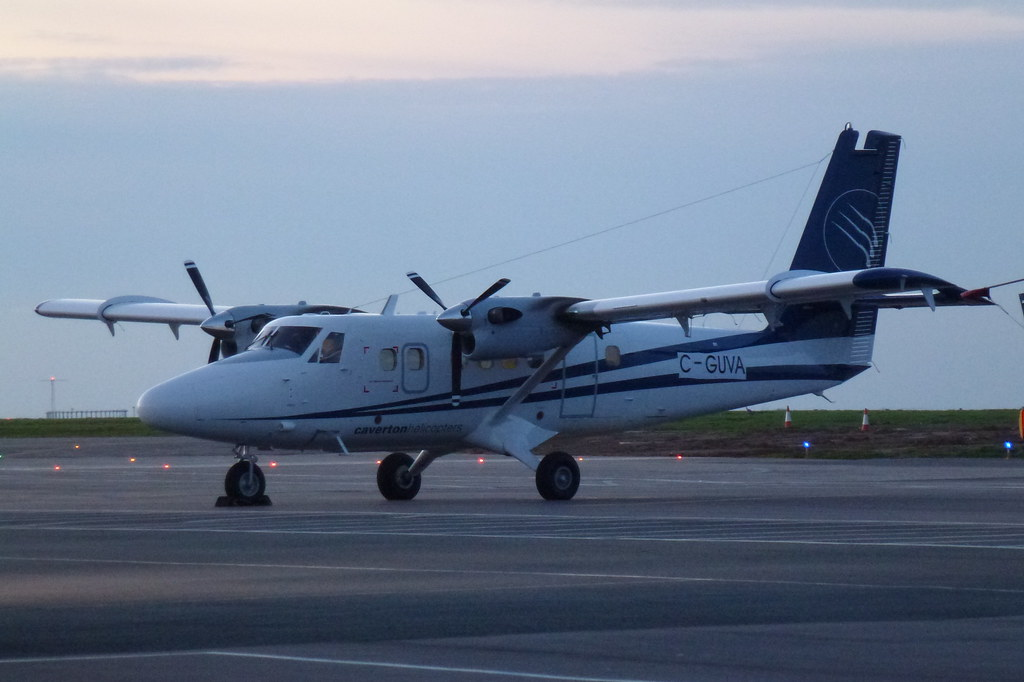 C-GUVA (DHC-6-400 Viking Twin Otter to be 5N-SHE Caverton Helicopters of Lagos, Nigeria)