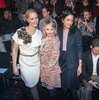 Judith Rakers, Anna Maria Muehe, Minu Barati Fischer at Mercedes-Benz Fashion Week Berlin Autumn/Winter 2013