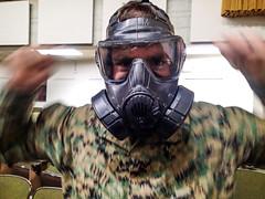 TBS Gas Masks (1 of 5) (Quentin Biles) Tags: usmc virginia olympus va gasmask tbs tough fifth quantico aco unitedstatesmarinecorps tg1 5thplatoon thebasicschool alphacompany cbrn