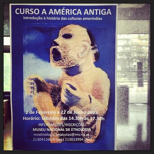 Para quem gosta de arte precolombiana agora ja existe esse curso em Lisboa.