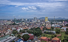 Malacca from Taming Sari Tower (Sarmu) Tags: city wallpaper urban building tower skyline architecture skyscraper observation highresolution asia downtown cityscape view skyscrapers widescreen unesco worldheritagesite 1600 malaysia highdefinition resolution 1200 cbd hd wallpapers hdr melaka 1920 malacca 2012 vantage observationdeck vantagepoint ws 1080 1050 720p 1080p urbanity 1680 720 2560  bandarhilir   sarmu bandarmelaka malaccacity menaratamingsari tamingsaritower