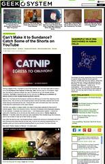 Geek O System - Catnip: Egress to Oblivion?