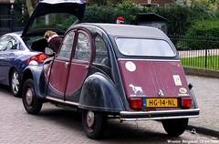 Citron 2CV Charleston 1981 (XBXG) Tags: auto old classic haarlem netherlands car vintage french automobile nederland citron voiture charleston 2cv 1981 paysbas eend geit ancienne 2pk citron2cv franaise deuche