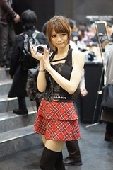 Lumix Booth (shinnygogo) Tags: woman japan photography women event yokohama feb showgirls kanagawa pacifico cipa boothgirls    campaigngirl   2013 cpplus  cp2013