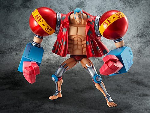 P.O.P One Piece Series SA-MAXIMUM 佛朗基 全武裝版本
