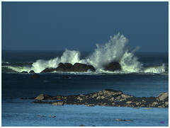 La mer comme on l'aime :) (kercanic29) Tags: mer france bretagne vague manche tempte finistre brignogan