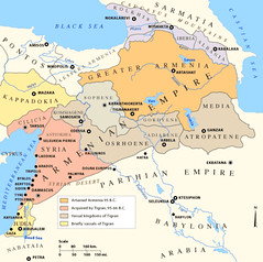 The Armenian Empire at it's peak - 66 BC (DXRD_Wolfman) Tags: red sea history archaeology israel ancient mediterranean egypt middleeast cyprus persia greece empire armenia bible hebrew judah babylon hittite sinai anatolia levant assyrian medes parthian nabataia