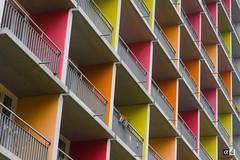 Simplicity 1 (Alex Harbich) Tags: balkon haus struktur architektur heidelberg gebude farben hochhaus geometrie wohnhaus architekturfotografie wohnblock