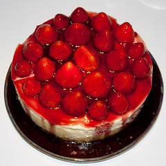 CO229 Strawberry Cheesecake (listentoreason) Tags: red food color cake canon dessert favorites cheesecake score35 ef28135mmf3556isusm