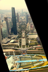 IMG_1354 (wyliepoon) Tags: guangzhou china new west tower observation town tv sightseeing center international canton finance  zhujiang    cantontower