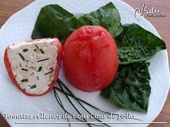Recetas Dukan: Tomates Rellenos de Cous Cous de Pollo (Crucero) (Maria Martinez Dukan) Tags: cruise recipes diet lowcarb phase crucero dukan mariamartinez mmb2412