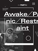 MSCED : 101 — Part 5: Awaken/Panic/Restraint/Peter Broderick (cmyka_msced) Tags: typography design graphicdesign msced makesomethingcooleveryday