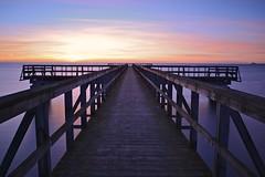 Revisited (thomasjgh) Tags: longexposure winter sunset sea ice pier skne nikon sweden bjrred d600 nd110 haboljung