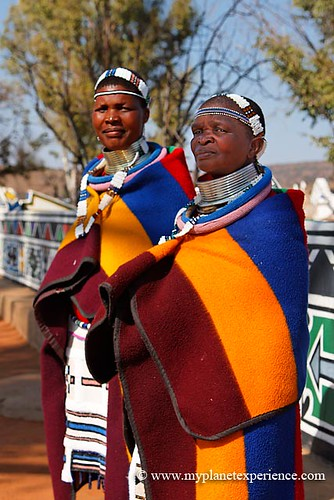 Ndebele women - South Africa