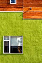 Window in a Green Wall (SammCox) Tags: green window wall longmont minimalist prospect