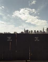 no bills (davebias) Tags: nyc film queens empirestatebuilding 6x7 chryslerbuilding longislandcity