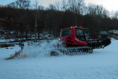 snow grooming machine (DigiDreamGrafix.com) Tags: winter red usa mountain snow ski alps cold industry tourism nature truck outdoors nc unitedstates action snowy hill machine northcarolina resort equipment machinery trail grooming alpine transportation nordic blade polar slope snowmobile newland hydraulic wintersports groomer