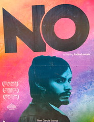 No - NYC (verplanck) Tags: nyc newyork movie poster chelsea no gaelgarciabernal